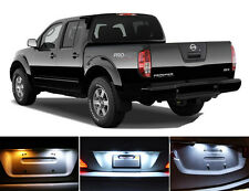 Xenon White License Plate / Tag 168 194 LED light bulbs for Nissan Frontier 2Pcs