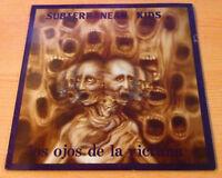"""SUBTERRANEAN KIDS """"los ojos de la victima""""-Vinyl  Lp 12"""" - p.r. 004 - 1987 Spain"""