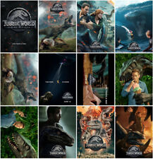 12 Jurassic World Fallen Kingdom Movie 2018 Mirror Surface Postcard Promo Card