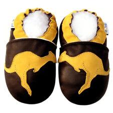 Free Shipping Littleoneshoes SoftSole Leather Baby Infant Kangoroo Shoes 6-12M