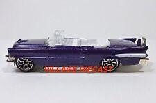2003 Matchbox Elvis Favorite Cars 1955 Cadillac® Eldorado™ PURPLE/LACE WHEEL