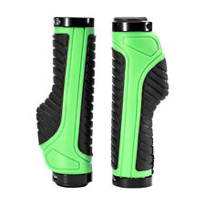 RockBros Cycling Bicycle Handlebar Grips Double Locking Non-slip Grips Green