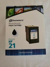 Dataproducts Remanufactured Inkjet Cartridge for HP 21 Black NEW!