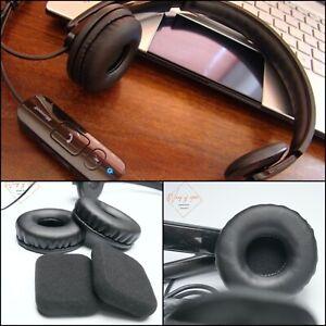 Leather EarPad Foam Cushion For Microsoft LifeChat LX-4000 LX 4000 Headset Cover