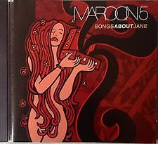 MAROON 5 - Songs About Jane CD NEW SEALED