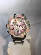 "Reloj de Hombre Nixon"" 42-20 Chrono ""Acuarela/Pearl/SS analógico, fecha"