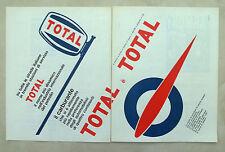 E317-Advertising Pubblicità-1963 - TOTAL STAZIONE DI SERVIZIO