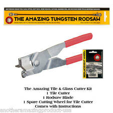 Left Handed Amazing Tile & Glass Cutter Kit,Wall,Floor Tile,Stained Glass,Mosaic