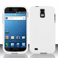 Hard Rubberized Case for Samsung Galaxy S2 T989 (T-Mobile) - White