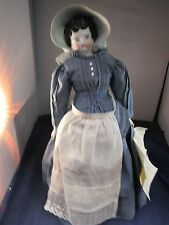"""Antique Doll Germany """"Ok"""" Head Orben Knabe Co. Painted 1909 18"""" China Nice!"""