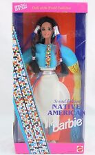 Native American Barbie Second Edition, Dolls of the World Collection, New in Box