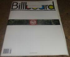 BILLBOARD MAGAZINE - 5/12/01 - CHARTS, ADS - FULL PAGE ELVIS PRESLEY / RCA AD