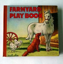 Panorama, FARMYARD PLAY BOOK, 1940, die-cut animal panorama