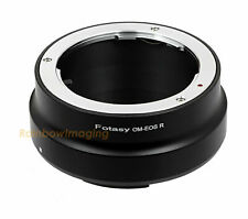 Olympus OM Lens to Canon EOS RF Mount R R5 R6 RP Ra Mirrorless Camera Adapter