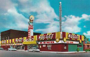 Nugget Casino Carson City Nevada Postcard 1950's