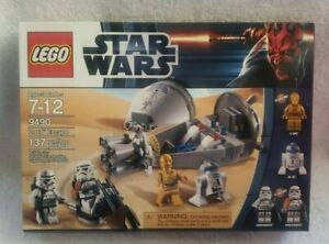 Brand New Sealed Lego Star Wars 9490 Droid Escape