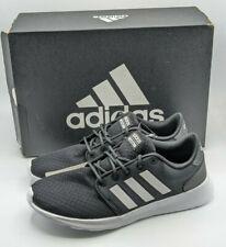 Adidas Women's Cloudfoam Qt Racer Running Shoe Carbon Black New in Box Size 9