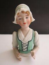 Rare Art Deco Dressel & Kister Dutch Girl Half Pin Doll Jointed Shoulders