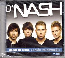 """D'NASH """"CAPAZ DE TODO-MISION EUROVISION"""" SPANISH CD+DVD EUROVISION SONG CONTEST"""