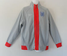 Umbro ENGLAND 3 LIONS SHIELD Track sweat shirt Football soccer JACKET~Mens sz XL