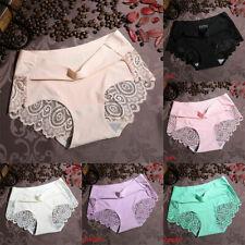 Sexy Underwear Panties Women Lady Soft Underpants Seamless Lingerie Briefs Lace