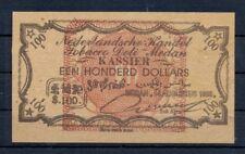 DUTCH INDIES INDONESIA 1899- TOBACCO-PLANTAGE GELD ?= $100 -PRIVATE ?? @1