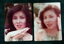 1980  蔡琼輝 明星照片 Hong Kong RTV actress CHOI KING FAI colour photo x2