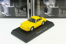 Porsche 911 Rs 964 Yellow 1/64 Kyosho Porsche MinicarCollection 6 2015
