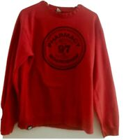 PHARMACY BOARDSHOP GRAPHIC T-SHIRT MEN'S SIZE M LONG SLEEVE RED
