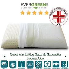 Cuscino Lattice Modello Saponetta.Cuscino Lattice Con Tessuto Aloe Vera Modello Saponetta
