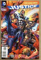 Justice League #9-2012 nm 9.4 STANDARD cover Jim Lee Shazam Captain Marvel
