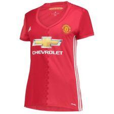 Camisetas de fútbol de manga corta en rojo talla L