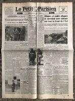 N5 La Une Du Journal Le Petit Parisien 26 Juillet 1943