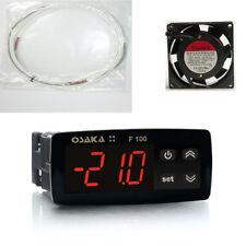 Kit Incubatrici Termostato Osaka + Resistenza Silicone 150W + Ventilatore 80mm