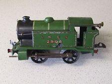 Vintage O Gauge Early Hornby Meccano Reversing LNER Clockwork Tank Loco 2900