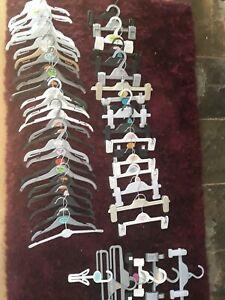 Bundle of 55 Kids Coat Hangers