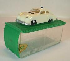 Siku Plastik V 160 Porsche 356 Autobahn-Polizei V-Serie Garagenbox P1 OVP #846