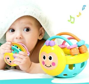 Baby Rattle Toys Baby Sensory Building Toy for 6-36Months Early Educational Toy