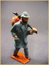 """BF figurine de la ferme, plomb creux """" le vagabond ou journalier """"(antique toys)"""