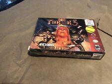 Turok 3 N64 Shadow of Oblivion Nintendo 64 New Factory Sealed Rip Dented BOX