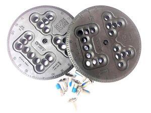 Flow Snowboard Bindings - Combi Disc Kit with Fixing Screws - Replacement Discs