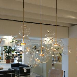 Glass  Bubble Home Lighting Pendant Lamp Chandelier Ceiling Light Fixtures