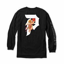 Primitive Heartbreakers: Dirty P Cupid Long sleeve (Black)