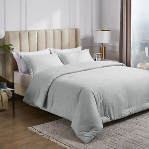 Comforter Sets Cationic Dyeing 300 GSM 100% Polyester All Seasons More Colors