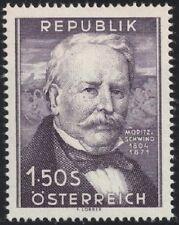 Österreich 1954 ANK 1005 / Michel 996 150. Geburtstag von Moritz von Schwindt