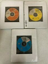 Lot of 3 Thomson Visions CD-ROMS Introductory and A-C Student & Teacher Resource