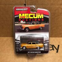Greenlight | 1:64 Mecum Auctions Series 4 - 1972 Checker Marathon | IN STOCK