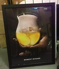Duel Beer Framed Poster Sign