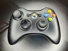 Xbox 360 Microsoft Wireless Controller Genuine OEM Black TESTED!