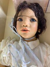 Vintage Rare Annette Himstedt Minou Doll ~ 10th Anniversary w/ Orig. Box & Coa